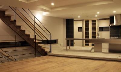 HOUSE O 『リビング階段の家』