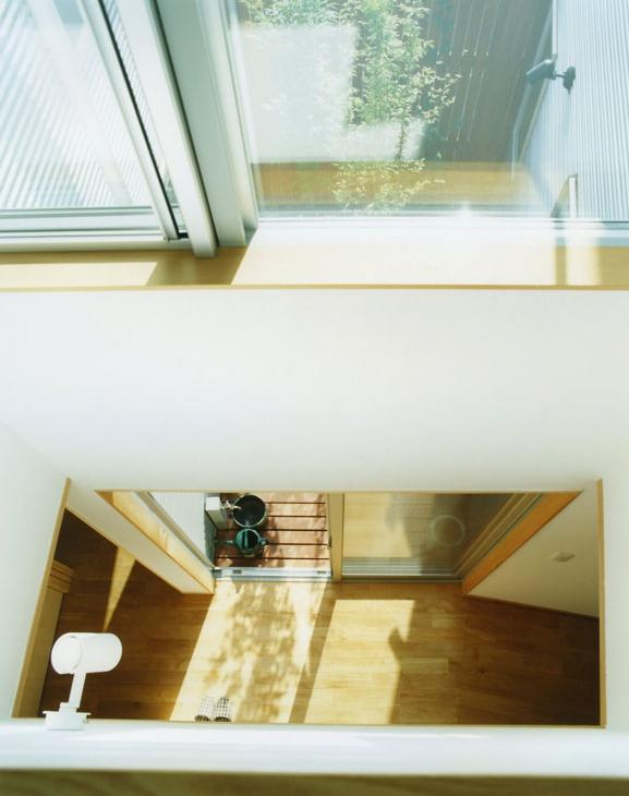 大塚新町の家の写真 2階から見下ろす