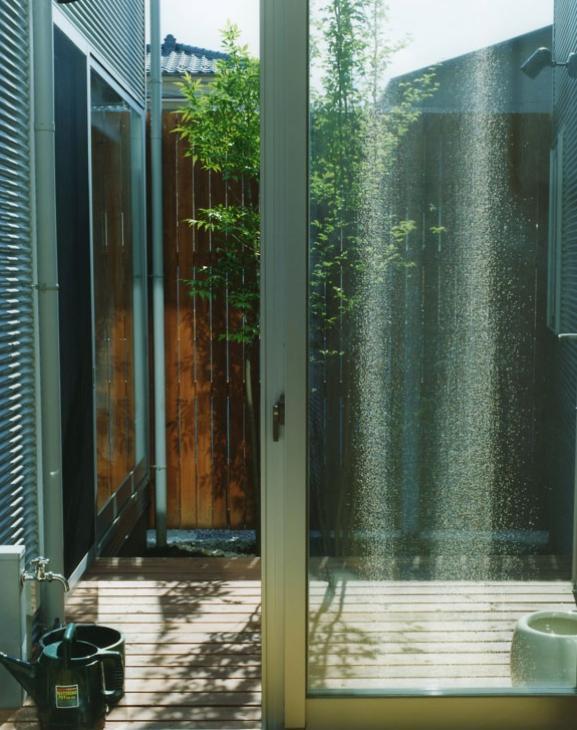 大塚新町の家の写真 植栽のあるテラス