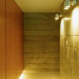鵠沼の家 (間接照明のある空間)