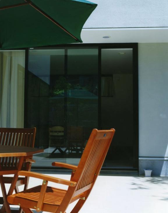 鵠沼の家の部屋 コートテラス