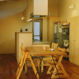 寺尾東の家 (ダイニングキッチン)