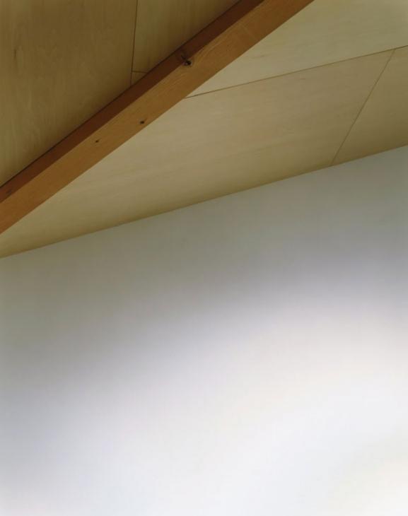 寺尾東の家の部屋 傾斜天井