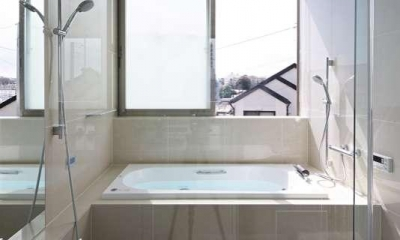 横浜E邸 (2階浴室)