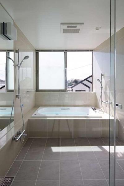 2階浴室 (横浜E邸)