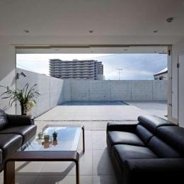 横浜E邸 (1階応接室)