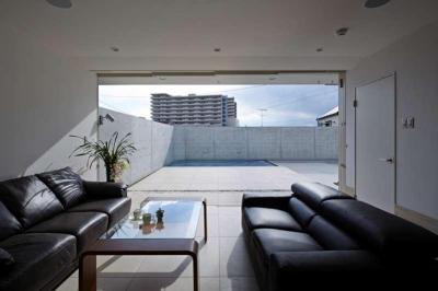 1階応接室 (横浜E邸)
