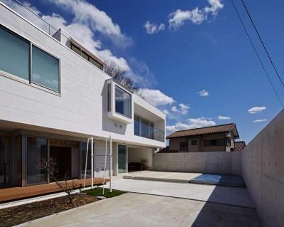 横浜E邸 (南庭)