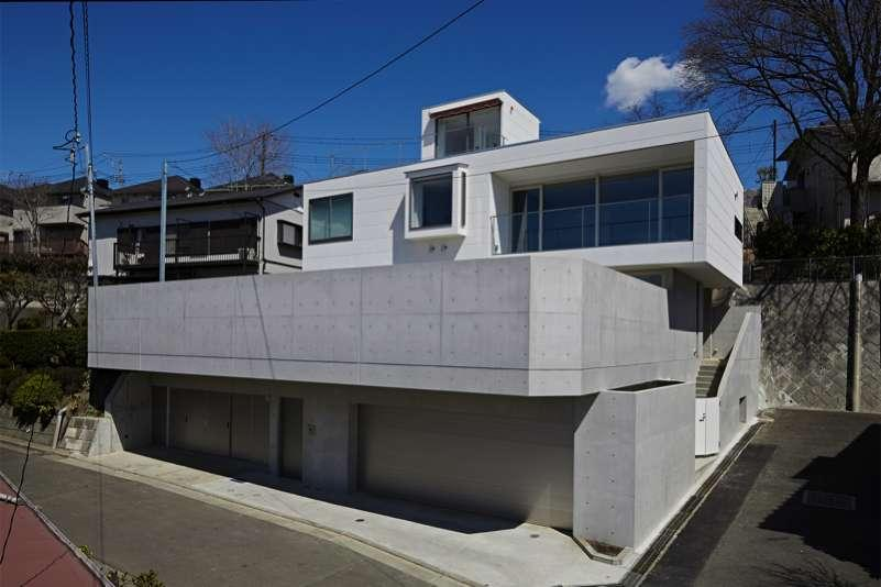 横浜E邸 (外観)
