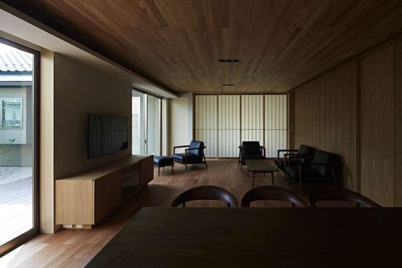 尾山台S邸の部屋 ダイニング・リビング