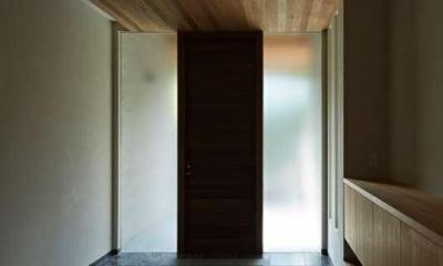 尾山台S邸 (玄関)