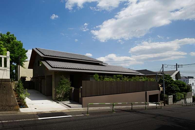 尾山台S邸 (外観)