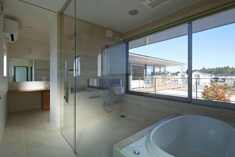 つくばK邸の写真 洗面・浴室