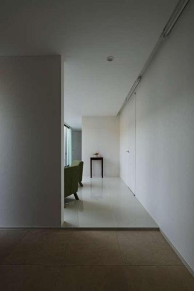 玄関・応接スペース (つくばK邸)