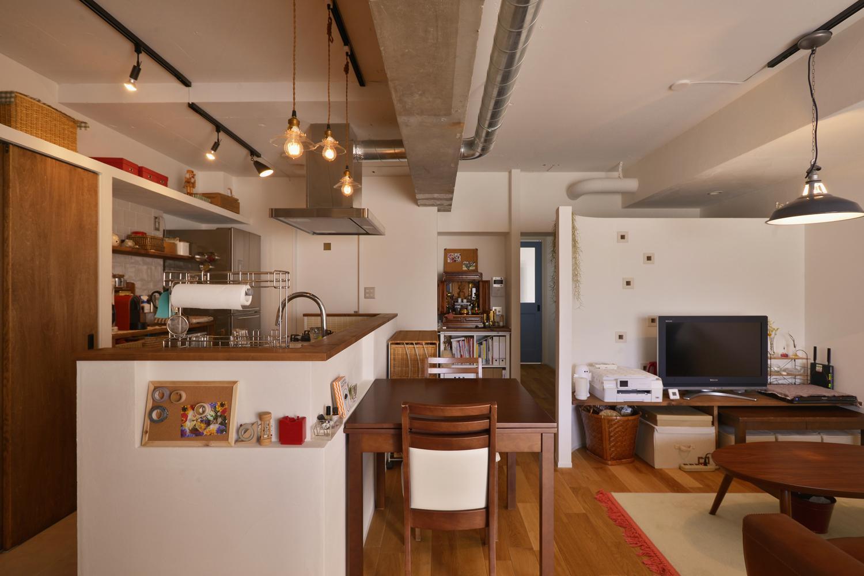リフォーム・リノベーション会社:スタイル工房「Y邸・漆喰の壁に囲まれて暮らす、光と風あふれる家」