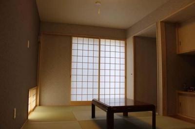 白河の家 (リラックスできる和室)
