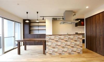 キッチン|「和」が迎えるおもてなし空間