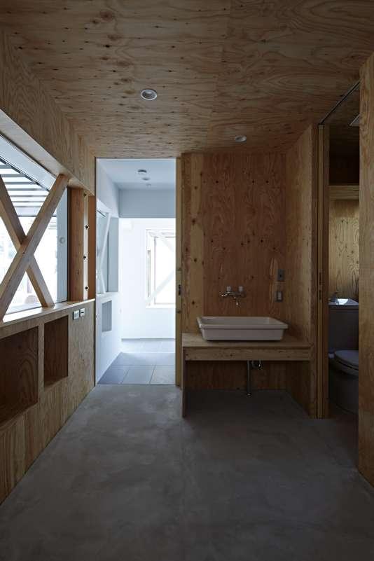 土呂N邸の部屋 1階ワークスペース