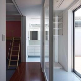 土呂N邸 (2階廊下)