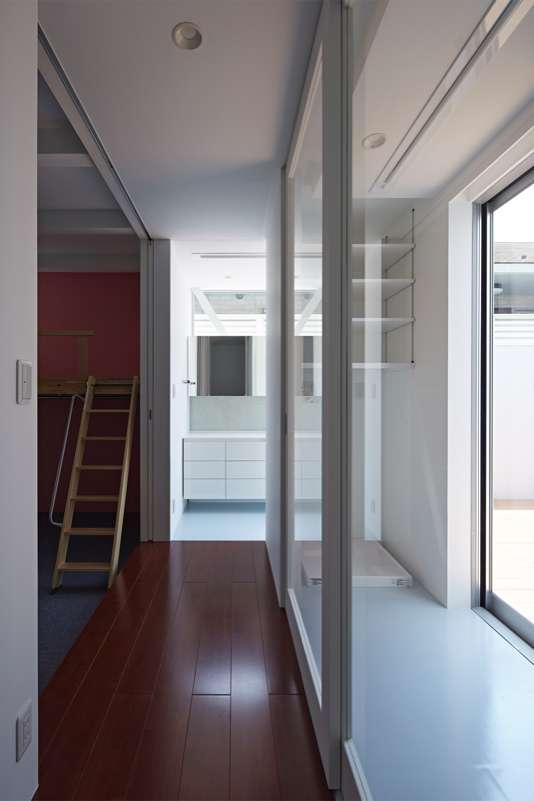 土呂N邸の部屋 2階廊下