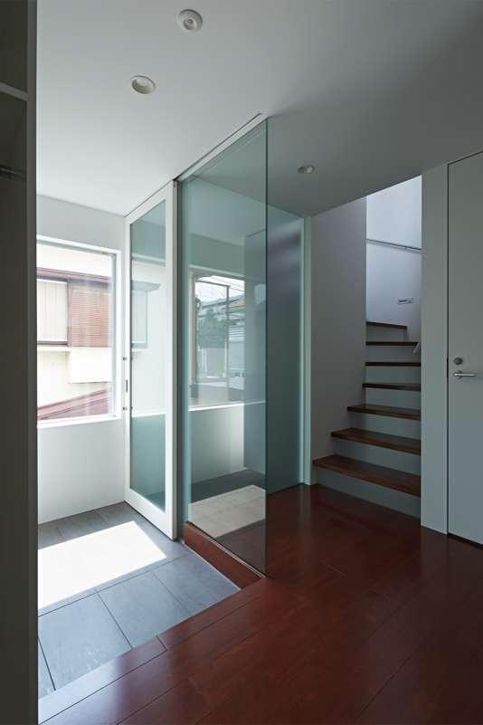 土呂N邸の部屋 2階玄関