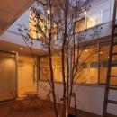 松江市東奥谷建売住宅の写真 1階中庭