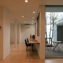松江市東奥谷建売住宅の写真 1階個室・中庭