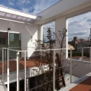 松江市東奥谷建売住宅の写真 2階中庭
