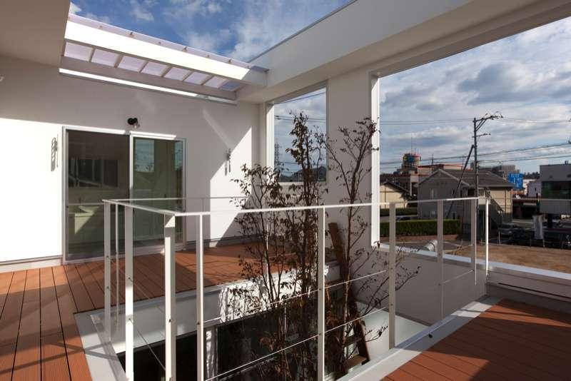 松江市東奥谷建売住宅の部屋 2階中庭