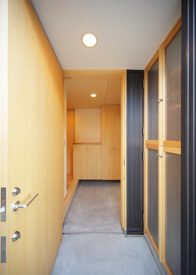 結芽の家-ゆめのいえの部屋 広々した玄関土間