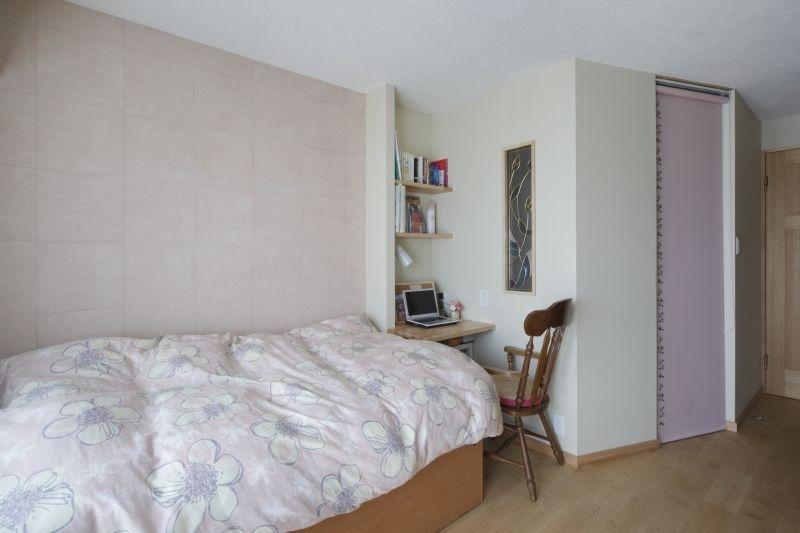 No.48 40代/3人暮らしの部屋 寝室