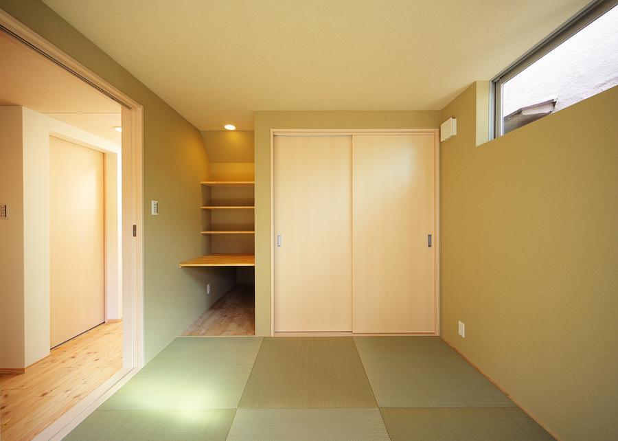 結芽の家-ゆめのいえの部屋 収納もしっかりの和室