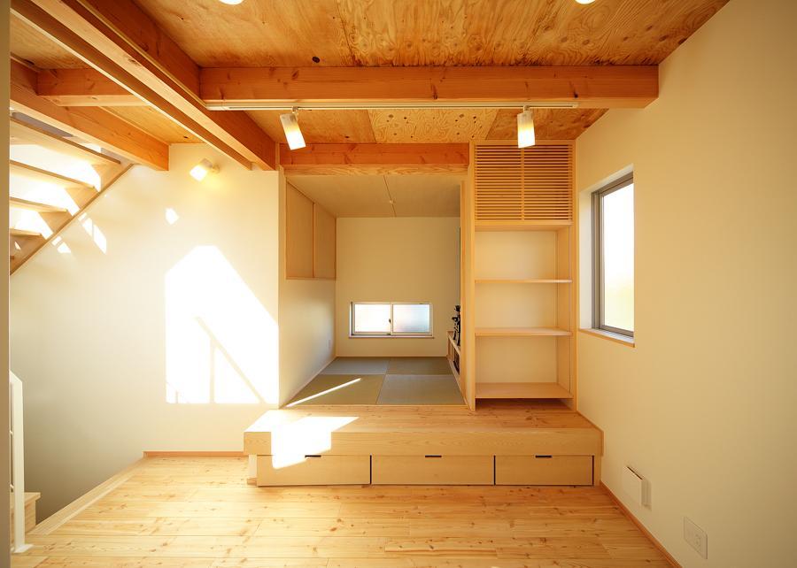 結芽の家-ゆめのいえの部屋 小上がりの和室