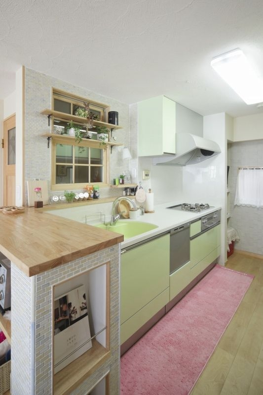 No.48 40代/3人暮らしの部屋 キッチン