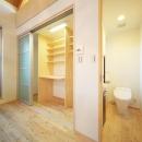 結芽の家-ゆめのいえの写真 収納棚とトイレ