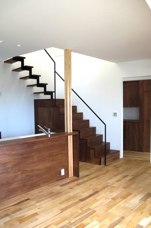 Kourien no ieの部屋 個性的な階段