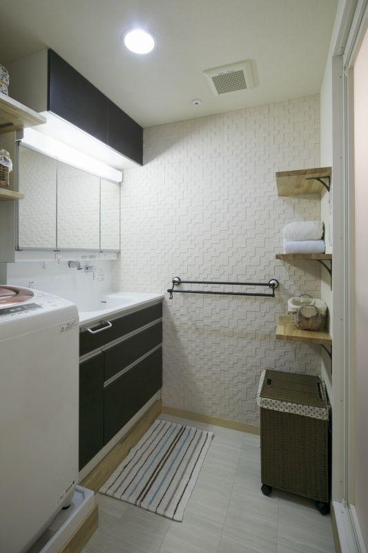 No.48 40代/3人暮らしの部屋 洗面所
