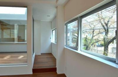 中庭、連窓 (浦和F邸リノベーション)