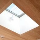 府中の家の写真 トップライトと埋込照明