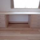 府中の家の写真 書斎の内装に合わせた置き家具