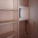 府中の家の写真 食品庫内の収納棚