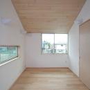 府中の家の写真 2階書斎(東面)