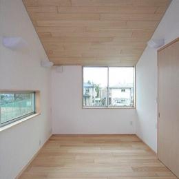 府中の家 (2階書斎(東面))
