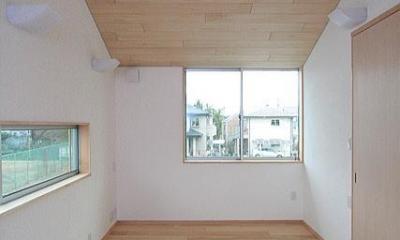2階書斎(東面)|府中の家