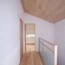 府中の家の写真 2階階段室(南面の寝室を望む)