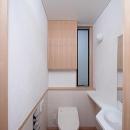 府中の家の写真 1階のトイレ