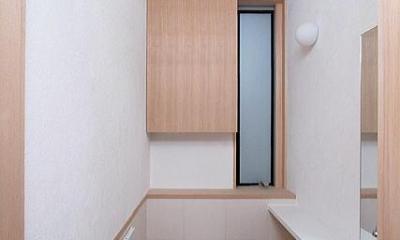 府中の家 (1階のトイレ)