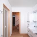 府中の家の写真 1階の洗面・脱衣・洗濯室