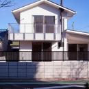 府中の家の写真 南(道路)側の外観