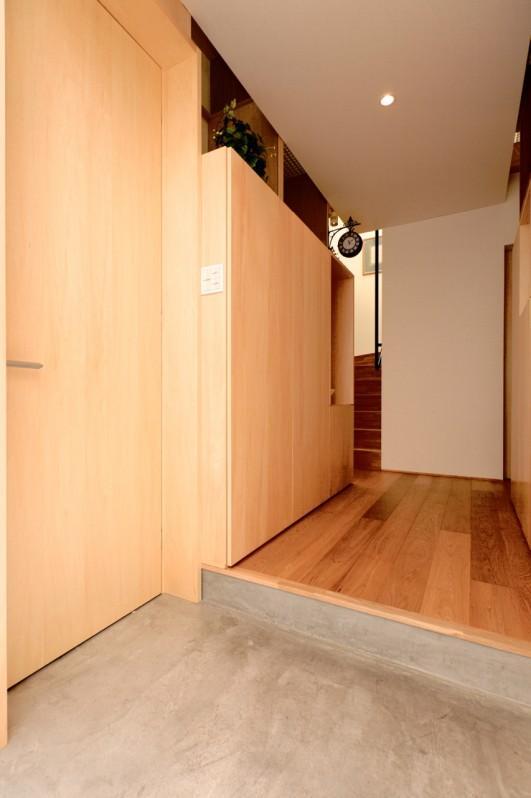 Daidou no ieの部屋 土間のある玄関